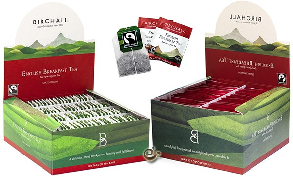 Birchall FairTrade English Breakfast Tea Bags